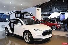 Tesla Model X Le Monospace 233 Lectrique L Argus
