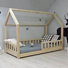 Kinderbett H 228 Uschenbett Hausbett Holzbett Kinderhaus Bett