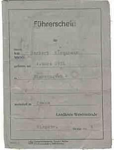 alter führerschein umtauschen profilm de mietangebote an dokumenten und objekten des jahres 1965