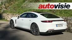 Review New Porsche Panamera 4s Diesel By Autovisie Tv