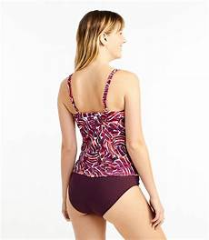 s l l bean mix and match swimwear squareneck