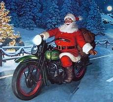 santa biker motorcycle christmas christmas holiday greetings merry christmas happy holidays