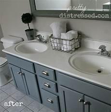 diy bathroom paint ideas pretty distressed revisiting my diy bathroom update