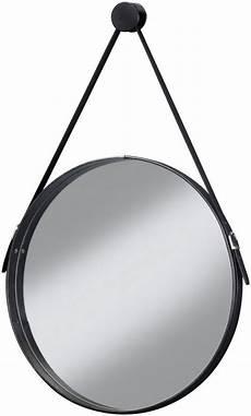 schwarzer spiegel cygnus bath spiegel 187 brooklyn 171 runder wandspiegel mit