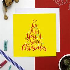 wish you a merry christmas card bouf