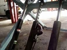 pont de voiture pont elevateur mobile 220 volt 2800 kg pour voiture