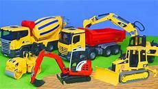 Bruder Malvorlagen Auf Bagger Lastwagen Kran Spielzeugautos Bruder