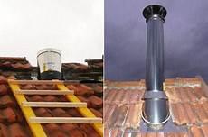 installer poele a bois montage du conduit ext 233 rieur installer un po 234 le 224 bois