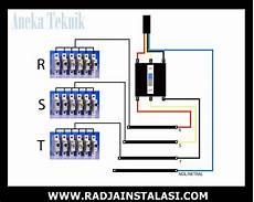 cara buat panel listrik 3 phase radja instalasi