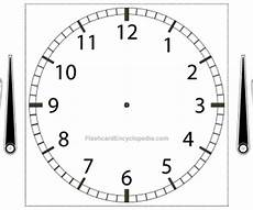 teaching time printable clock 3714 telling the time clock flashcard with adjustable with numbers