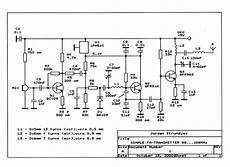 Fm Transmitter Circuit Diagram Schematic by Fm Radio Transmitter Circuit