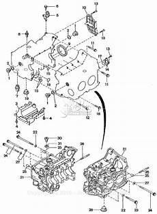 Subaru Cylinder Diagram by Robin Subaru Ew180 3 Parts Diagram For Cylinder Block