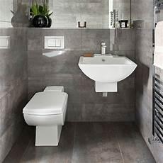 Grey Bathroom Ideas Uk by Grey Tiled Bathroom Bathroom Decorating