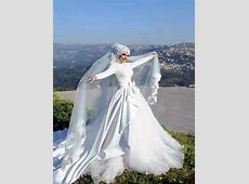 Amazing Ivory Wedding Hijab   HijabiWorld