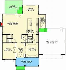 modern four bedroom house plans simple 4 bedroom modern farmhouse plan 500022vv