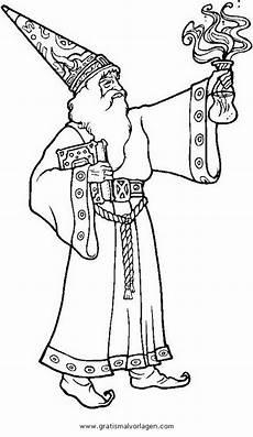 Malvorlagen Zauberer Zum Ausdrucken Merlin 4 Gratis Malvorlage In Fantasie Zauberer Ausmalen