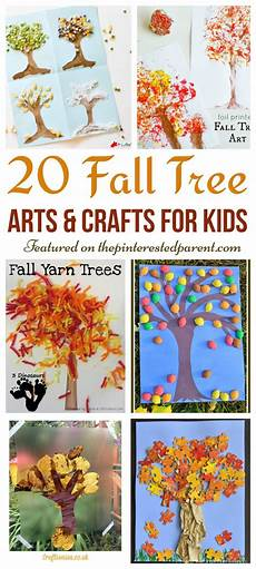 Herbst Basteln Kindergarten - 20 fall tree arts crafts ideas for the