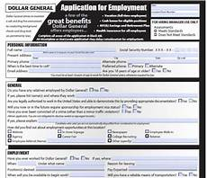 print out dollar general job application form in pdf