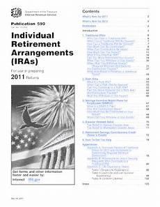 publication 590 pdf 2011 fill online printable fillable blank pdffiller