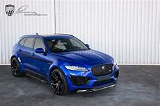 jaguar clr f jaguar f pace lumma design clr f kit blue meduza
