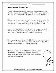 word problems worksheets grade 3 11044 grade 3 word problems set 3