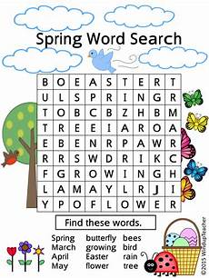 spring word searches 2 levels of difficulty by windupteacher teaching resources tes