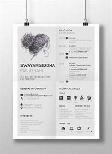 about me resume behance