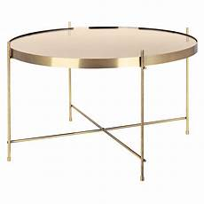 table ronde metal table basse ronde valdo or m achetez nos tables basses
