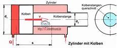 hydraulik 3 kolbengeschwindigkeit tec lehrerfreund