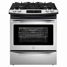 oven gas kenmore 32603 4 5 cu ft slide in gas range stainless steel