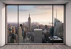 new york fototapete vlies fototapete penthouse in new york panorama blick