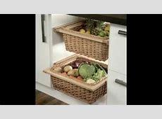 Fruit and vegetable storage ideas   YouTube