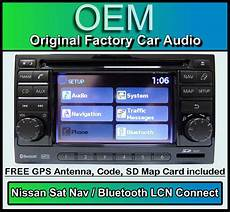 nissan qashqai sat nav car stereo map sd card lcn