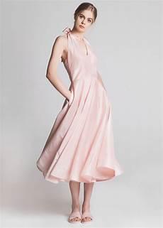 the cannes dress powder pink lilli jahilo