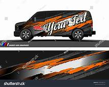 Car Wrap Design Vector Abstract Splatter With Grunge