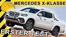 mercedes x klasse v6 mercedes x klasse x250d test besser als nissan navara
