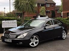 2008 Mercedes Cls 320 Cdi Jet Black With Leather