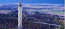 Neuer Fahrstuhl Testturm Rottweil Blickt Bei Gutem Wetter