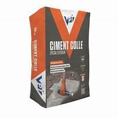 Ciment Colle Sp 233 Cial Ext 233 Rieur Blanc 25kg Castorama