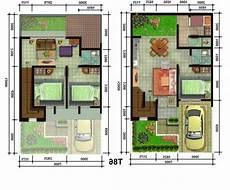 Gambar Dan Denah Rumah Minimalis 2 Lantai Sederhana