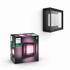 hue white and color ambiance econic outdoor wall light 1743830v7 philips