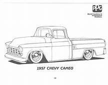 Dodge Chevy Box  Coloring Pages Print 2019