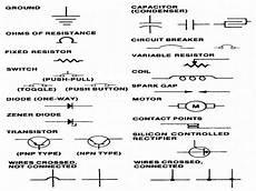 automotive electrical diagram symbols wiring