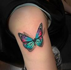 100 unique butterfly tattoos for women with meaning 2020