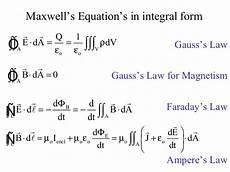 maxwells equation