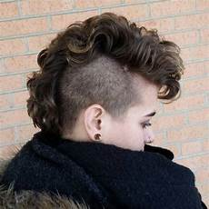 curly mohawk hairstyles 25 exquisite curly mohawk hairstyles for girls women