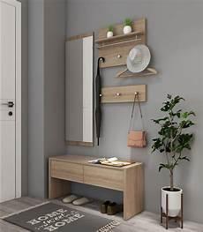 garderobe mit spiegel 4 teilig garderobe set flurgarderobe spiegel wandgarderobe