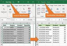 5 different methods to transfer data from one excel worksheet to another