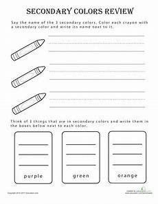 colors memory worksheets 12754 secondary colors review coloring worksheets for kindergarten secondary color worksheets