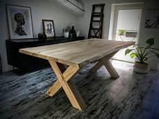 Table Scandinave Avec Pieds Crois 233 S Enti 232 Rement En Ch 234 Ne